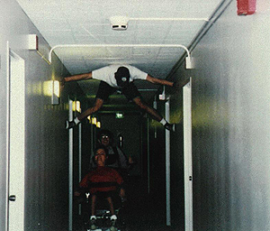 Picture of DO-IT Scholars demonstrating mobility alternatives