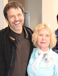 Howard Kramer and Sheryl Burgstahler