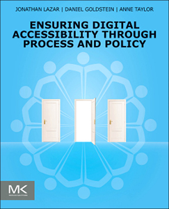 Ensuring Digital Accessibility Through Process and Policy front cover