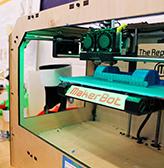 A MakerBot 3D Printer