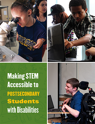 Making STEM Accessible to Students with Disabilities cover