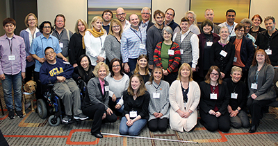 Attendees of the Ed-ICT International Network Seattle Symposium.