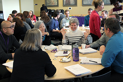 Liaisons will meet three times a year to discuss the progress of accessibility within their units.