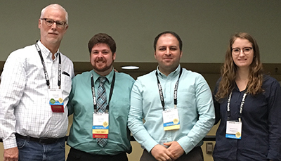 AccessComputing PI Richard Ladner with the SIGCSE student panelists.