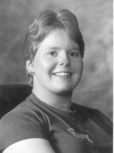 Photo portrait of Marissa.