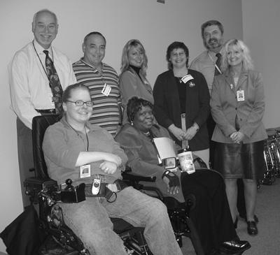Photo of Marissa and FAA colleagues.