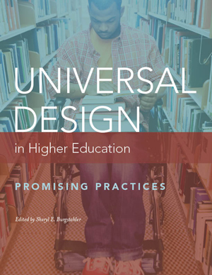 Universal Design of Higher Education Book Cover