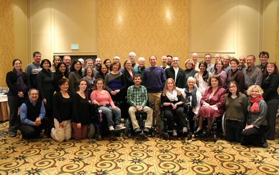 Group picture of participants at the 2014 AccessSTEM CBI