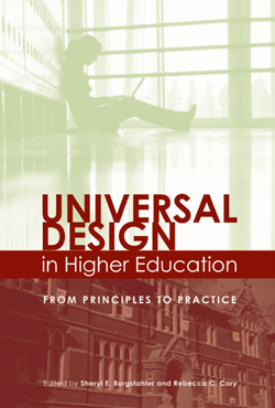 Cover of Universal Design in Higher Education: From Principles to Practice