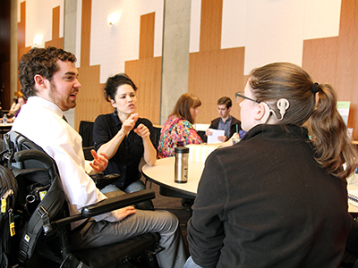 Finding a mentor can be beneficial to a student, no matter what career field they decided to pursue.