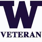 UW Veterans Center logo.