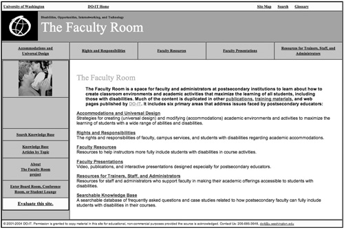 The Facaulty Room screenshot
