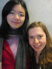 Photo of DO-IT Young Scholars Jessie and Angela