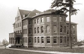 Photo of Parrington Hall on the UW campus