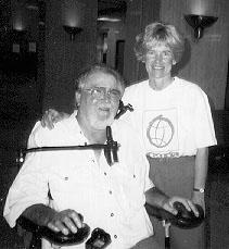 Photo of DO-IT director Sheryl Burgstahler and Robert
