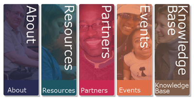 The Collaborative Dissemination website graphic