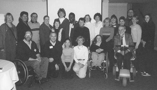 Picture of the 2001 DO-IT Prof team members.