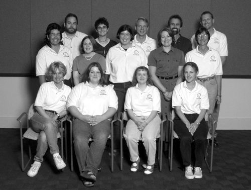 Photo portrait of the 2002 DO-IT staff mentors