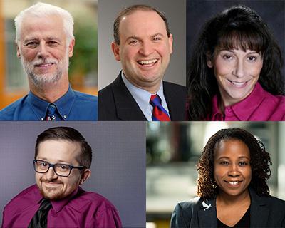 Richard Ladner, Jonathan Lazar, Jeanine Cook, Rob Parke, and Ayanna Howard