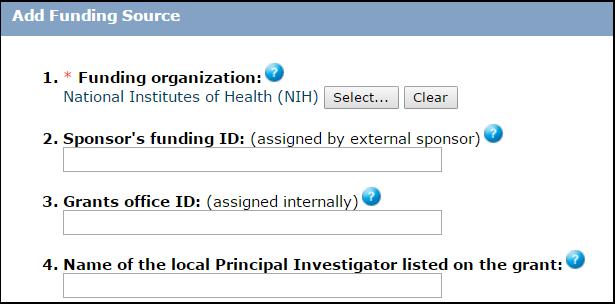 Screen shot of Zipline funding dialog box