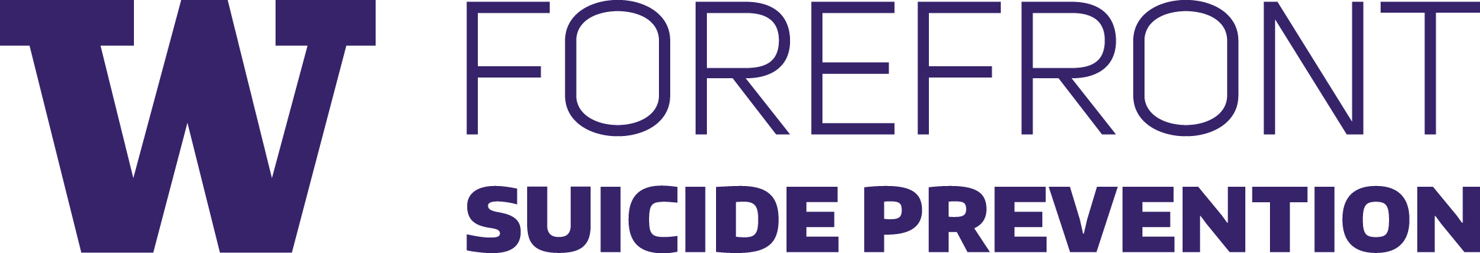 Forefront Suicide Prevention Logo