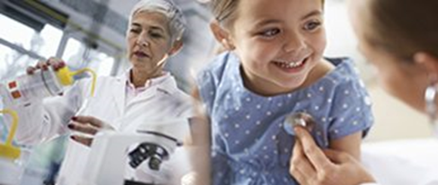ITHS Consulting & Research Services - picture of child and medical personnel
