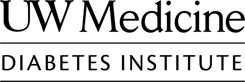 UW Medicine Diabetes Institute logo in black and white