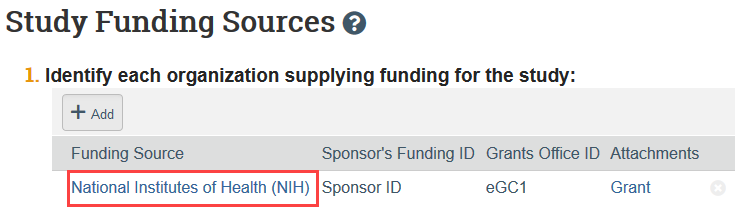 funding source name