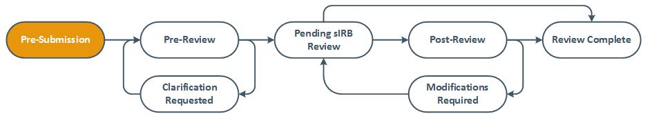external IRB study review diagram