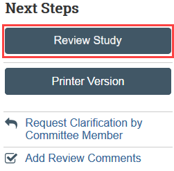 review study button
