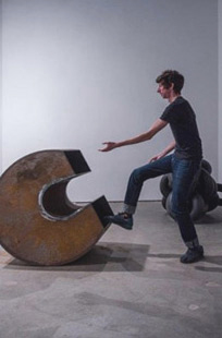Moving a sculpture